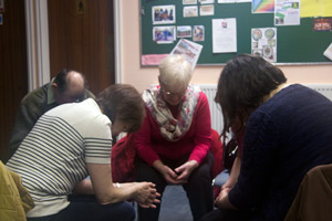 Prayer as part of a study group