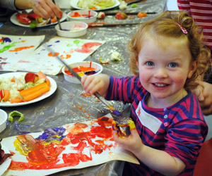 Messy church can get real messy